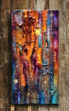 Stunning canvas by Maria Fondler-Grossbaum