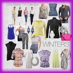 """CAbi spring '14 WINTERS"" by debbamcd on Polyvore"