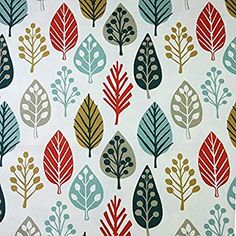 McAlister Textiles Magda Curtain Fabric | Terracotta Orange + Blue PatternUpholstery DIY Crafting Material Metre | 100% Cotton Floral Print Sewing + Crafting Material - 140cm Wide: Amazon.co.uk: Kitchen & Home Burnt Orange Curtains, Blue Grey Curtains, Colorful Curtains, Pinch Pleat Curtains, Panel Curtains, Curtain Fabric, Diy Crafts Materials, Shabby Chic Chairs, Floral Room