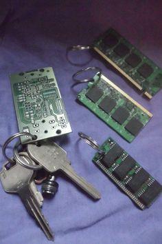 recycled vintage circuit board mini magnetic geek clipboard rh pinterest com