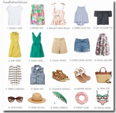 Italy Capsule Wardrobe: Summer