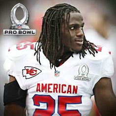 2014 pro bowl captain! Jamaal Charles!!! KANSAS CITY CHIEFS!!