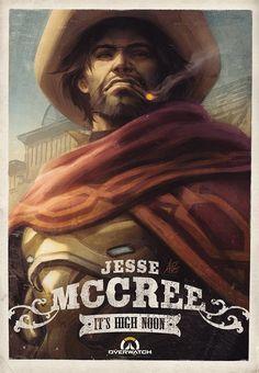 "Akshon Esports en Twitter: """"Well, it's high noon somewhere in the world,"" - McCree Artist: Artgerm #Overwatch #Overwatchart #McCree https://t.co/kliWvb9mcf"""
