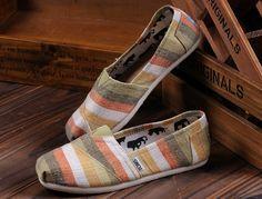 Toms Shoes Khaki White Stripe Womens Classics : Toms Outlet,Cheapest toms shoes online., Toms shoes store online which provide cheapest toms...