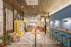 Park Bench Deli Identity & Interiors by Foreign Policy - Grits + Grids