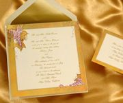 Vineyard destination wedding invitations The lovely grapes on this ecru invitation are perfect for your vineyard wedding. Your cup runneth over!