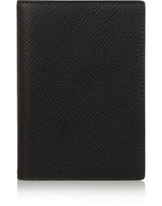 Smythson Document Holder In Black Document Holder, Smythson, The Originals, Prints, Leather, Black, Color, Style, Swag