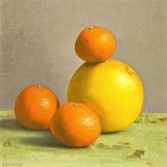 Color! Amy Weiskopf,Satsumas and Grapefruit(2012).  Viastilllifequickheart.