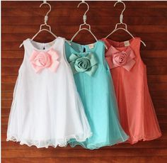 2015 summer new fashion wild dimensional flower girls dress factory direct three color options Cute Flower Girl Dresses, Girls Tutu Dresses, Girls Party Dress, Baby Dress, Flower Girls, Party Dresses, Princess Dresses, Cheap Dresses, Dresses 2014
