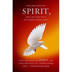 Pentecost (1 Corinthians 14:15) Bulletins, 100