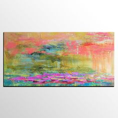 Abstract Landscape Art, Abstract Painting for Sale, Large Canvas Art, Acrylic Painting