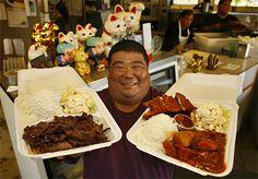 Mark's Place - Poipu, Kauai (huge plates for under 10 bucks)