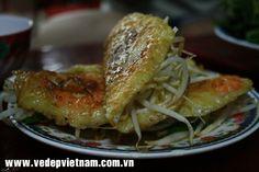 Thưởng thức đặc sản ẩm thực Bánh xèo bánh căn Phan Rang.