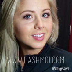 Ashley from the Washington Redskins Cheerleaders looks stunning in Xtreme Lashes! #XtremeLashes www.lashmoi.com