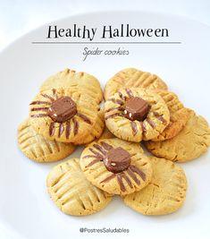 Postres Saludables | Galletas saludables para Halloween | http://www.postressaludables.com