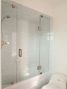 015be6c0e650 Frame less shower door for tub shower Tub Shower Doors