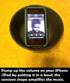 Life Hacks - easy iPod amplification