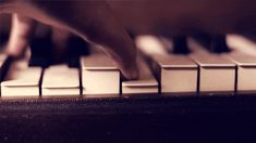 Piano keys photography music cool animated