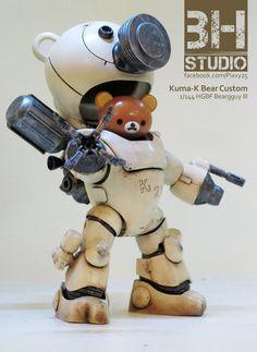 Kuma K Beargguy III Vinyl Toys, Vinyl Art, 3d Character, Character Design, Robots Characters, Gundam Wallpapers, Modelos 3d, Robot Design, Robot Art