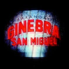 I love Barangay Ginebra. Born a fan, always a fan.