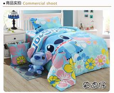 kids character bedding bed sheet sets without filling,coral fleece cartoon bedding sets,Flannel kid bedding sheet queen - Lilo Stitch, Lilo And Stitch Memes, Lelo And Stitch, Stitch Cartoon, Boys Bedding Sets, Bedding Sets Online, Queen Bedding Sets, Luxury Bedding Sets, Disney Bedding