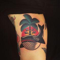 Wan as featured on Swallows & Daggers. www.swallowsndaggers.com #tattoo #tattoos