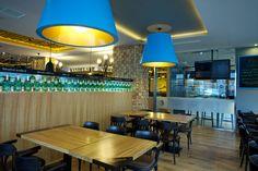 Interiér Restaurantu Kandelábr - stoly
