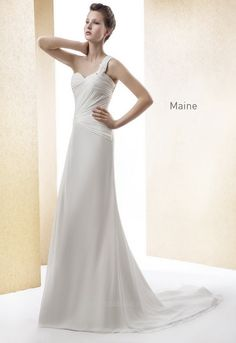 Cabotine Bridal Gown Style - Maine