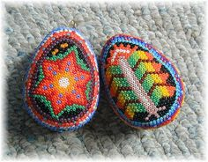 Beaded Easter Eggs Mexican