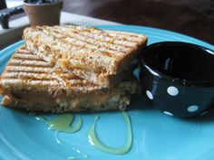 Grilled Peanut Butter Banana Sandwich