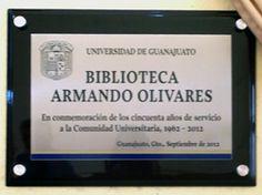 Festejando los 50 años de la Biblioteca Armando Olivares Carrillo.