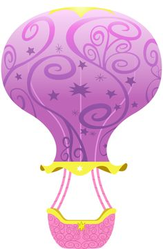 MLP FIM Hot Air Balloon Vector by Baraniruchu