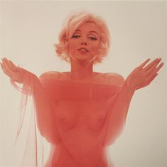 """Bert Stern:  Marilyn Monroe: """"I beg of you"""" from The Last Sitting"""