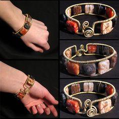 #Orrage agate bracelet    repin .. share  :)    http://amzn.to/ZABw2z