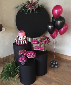70th Birthday Decorations, Birthday Party Tables, Birthday Backdrop, Birthday Balloons, Baby Birthday, Birthday Bash, Event Planning Template, Ideas Para Fiestas, Balloon Decorations