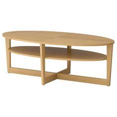 VEJMON Mesa de centro - chapa de carvalho - IKEA