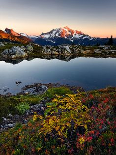 Picture Lake, Washington; photo by Trevor Anderson