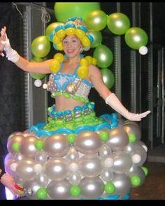 #balloon dress #balloon fashion #balloon headbands #balloon bracelets #balloon…