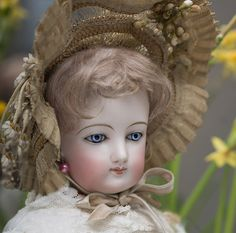 """antique dolls french   20"""" French Fashion Doll by Gaultier"""