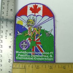 WIDER OPPORTUNITIES Handbook Badge NEW Jr Girl Scouts 1986 RARE Multi=1 Ship