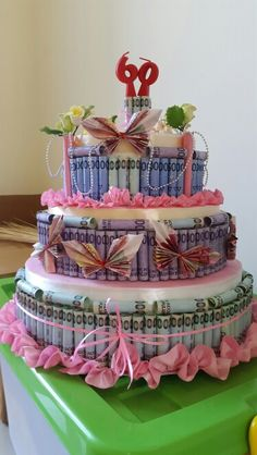 Mother's in law money cake