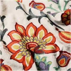 Balpur (guell-lamadrid.com): keep autumn away from home with warm flowers #linen #homedesign #homedecor #home #decor #decoration #homesweethome #interior #lovely #glamour #textiles #textildesign #fabric #pattern #texture