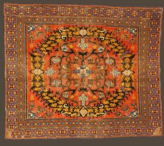 :: Textile Museum :: 16th century carpet from Spain