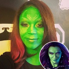 The most kick-ass heroine of the year? Guardians of the Galaxy's, Gamora, obviously. So no offens...