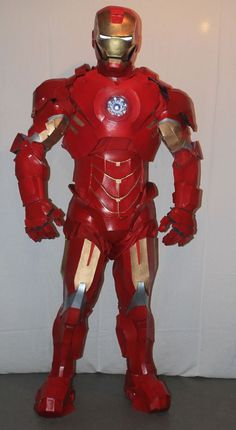 If you're up for a DIY challenge, give this homemade Iron Man costume a try