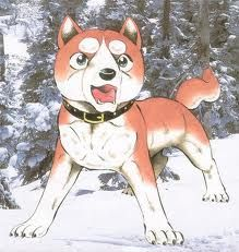 Riki, a character from the show Ginga Densetsu Weed
