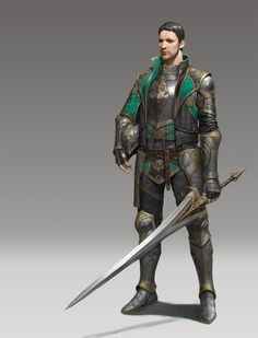 ArtStation - middleage_knight, Woochang Choi