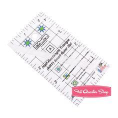 Bloc_Loc Half-Rectangle Mini Ruler Set Bloc_Loc #BL-HRTSM - Fat Quarter Shop