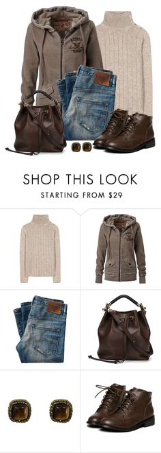 """Untitled #1584"" by gallant81 ❤ liked on Polyvore featuring Loro Piana, True Religion and Chloé"