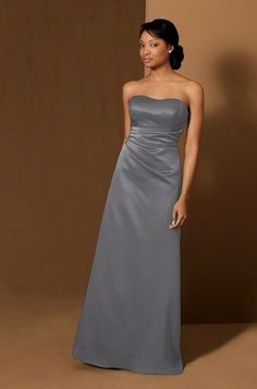 Maid of Honor  Alfred Angelo 6493 Bridesmaid Dress | Weddington Way